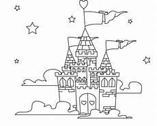 Ausmalbilder Prinzessin Burg Gratis Ausmalbilder Schloss Ausmalbilder