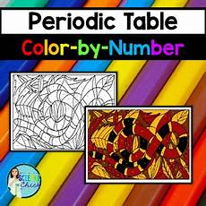 color by number periodic table worksheet 16263 periodic table color by number by science tpt