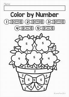 free simple color by number worksheets 16325 30 best images about pre school ideas on preschool activities activities and