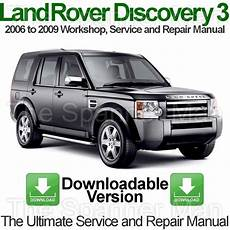 car repair manuals online free 2009 land rover range rover sport on board diagnostic system land rover discovery 3 2006 to 2009 workshop service and repair manual download ebay