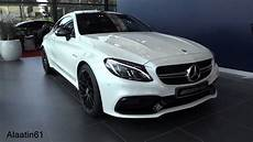 c63 amg 2017 2017 mercedes amg c63 s coupe start up exhaust sound