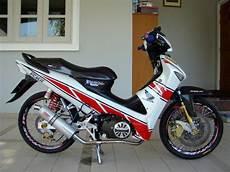 Modifikasi Honda Supra X 125 by 50 Gambar Modifikasi Honda Supra X 125 Simpel Elegan