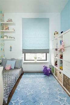 Pastellblaue Akzente Im Kinderzimmer Und Wei 223 E Wandfarbe