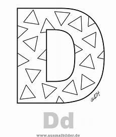 Ausmalbilder Buchstaben D Als Jpg Bild Herunterladen