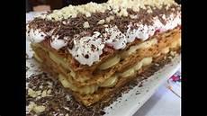 torta con crema pasticcera e panna montata torta millefoglie alle fragole con crema panna e cioccolato youtube