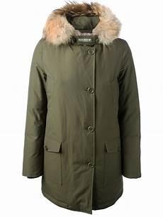 woolrich arctic parka in green lyst