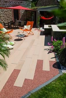 Exemple De Terrasse Pour Votre Terrasse Ou All 233 E De Jardin Lames De B 233 Ton