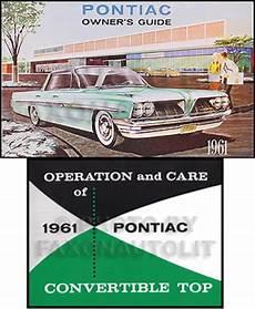 manual repair autos 1961 pontiac tempest spare parts catalogs 1961 1962 pontiac illustrated master parts accessories book reprint