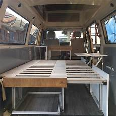 part iii of the vanconversion the furniture is coming