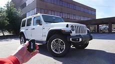 2019 jeep wrangler unlimited start up walkaround