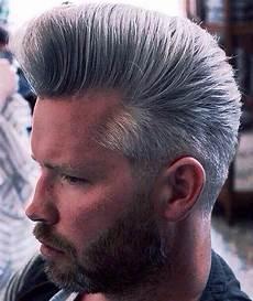 mens bouffant haircut grey bouffant for men man hair hair beard styles pompadour men hair tools