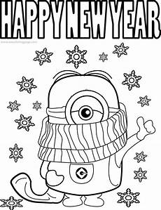21 happy new year 2021 coloring pages drawings and