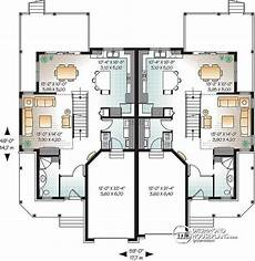 multi family house plans duplex multi family plan withman no 3001 duplex house design