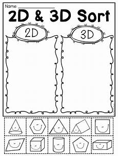 sorting 3d shapes worksheets 7889 grade 2d and 3d shapes worksheets distance learning shapes worksheets 2d 3d shapes