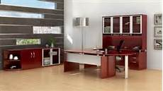 luxurious cherry office furniture for sale online from the mayline napoli collection