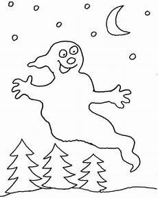 Malvorlagen Geister Sindelfingen Kostenlose Malvorlage Geisterstunde Zum Ausmalen