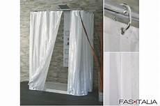 tende per doccia in tessuto tenda doccia in tessuto bianco raso 120x200 cm