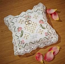 wedding ring pillow the cross stitch guild