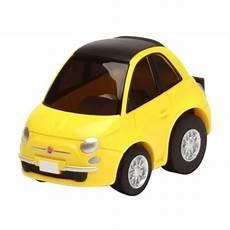 jual tomica choro q fiat 500c diecast yellow
