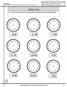 time worksheet quarter to 3155 telling time to nearest quarter hour math at home clock worksheets math worksheets