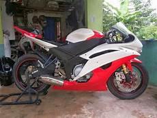 Yamaha R6 Modifikasi by Modifikasi New Vixion Fairing R6 Dunia Motor