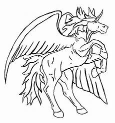 Malvorlagen Wings Unicorn Unicorn Big Flying Unicorn To Color Coloring Pages