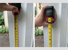 diamond markers on measuring tape