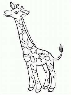 Ausmalbilder Drucken Giraffe Giraffe Gross Ausmalbild Malvorlage Tiere Malvorlagen