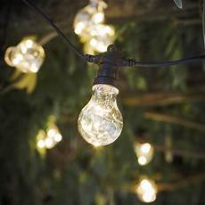 copper led wire filled festoon lights by all things brighton beautiful notonthehighstreet com
