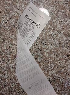 my walmart receipt was printed macy s paper mildlyinteresting