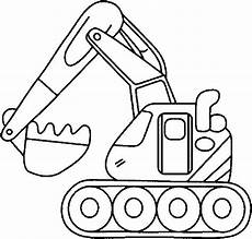 Kostenlose Malvorlagen Bagger Bild Malvorlage Bagger 6 Gif 627 215 600 Truck Coloring