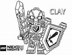 nexo knights clay ausmalbilder lego 01 mit bildern
