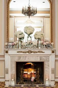 karine wedding fireplace wedding mantle home wedding decorations