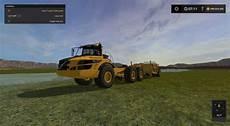 volvo trucks massy volvo a40g semi rock truck mod for farming simulator
