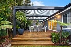 Eclipse Patios Sydney opening roof custom designed louvred patio cover