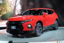 Chevrolet Blazer In Canada Gets 4 Trims $35200 Base