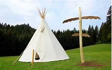 Indianer Tipi Malvorlage Tipi Dorf Zelten Im Schwarzwald