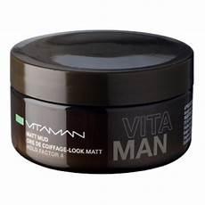 cire de coiffage homme aspect mat naturel vitaman gel