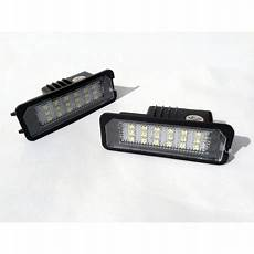 auto led prestige bloc golf iv 224 vii 2 led eclairage de plaque