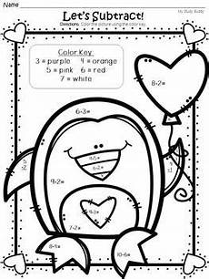color by number worksheets 1st grade 16057 s day activities color by number addition subtraction grade