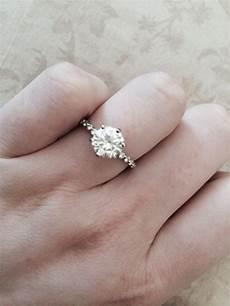 moissanite eng143 my dream ring palladium moissaniteco weddingbee