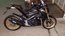 Modifikasi M by Modifikasi Yamaha M Slaz Mt15 Xabre150 Dengan Velg Gold