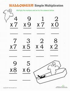 easy multiplication worksheets for 3rd grade 4959 math simple multiplication 1 material did 225 ctico materiales didacticos tercer