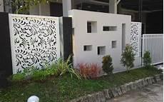 Pagar Motif Batik Multidesain Arsitek
