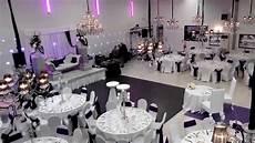 deco mariage blanc l alhambra salle de r 233 ception mariage soir 233 e blanc noir violet