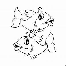 Window Color Fische Malvorlagen Zwei Fische 3 Ausmalbild Malvorlage Nordisch