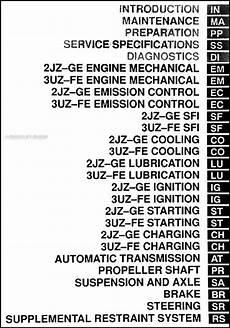 car repair manuals download 2002 lexus gs head up display 2002 lexus gs 300 gs 430 repair shop manual original 2 volume set