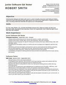 software qa tester resume template ipasphoto