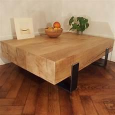 table basse bois massif brut table basse bois massif charpente table de salon ch 234 ne