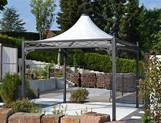 Metall Gartenpavillon 3x3 Wetterfest
